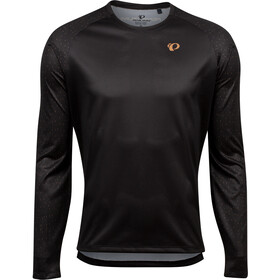 PEARL iZUMi Summit Top Manga Larga Hombre, black/berm brown